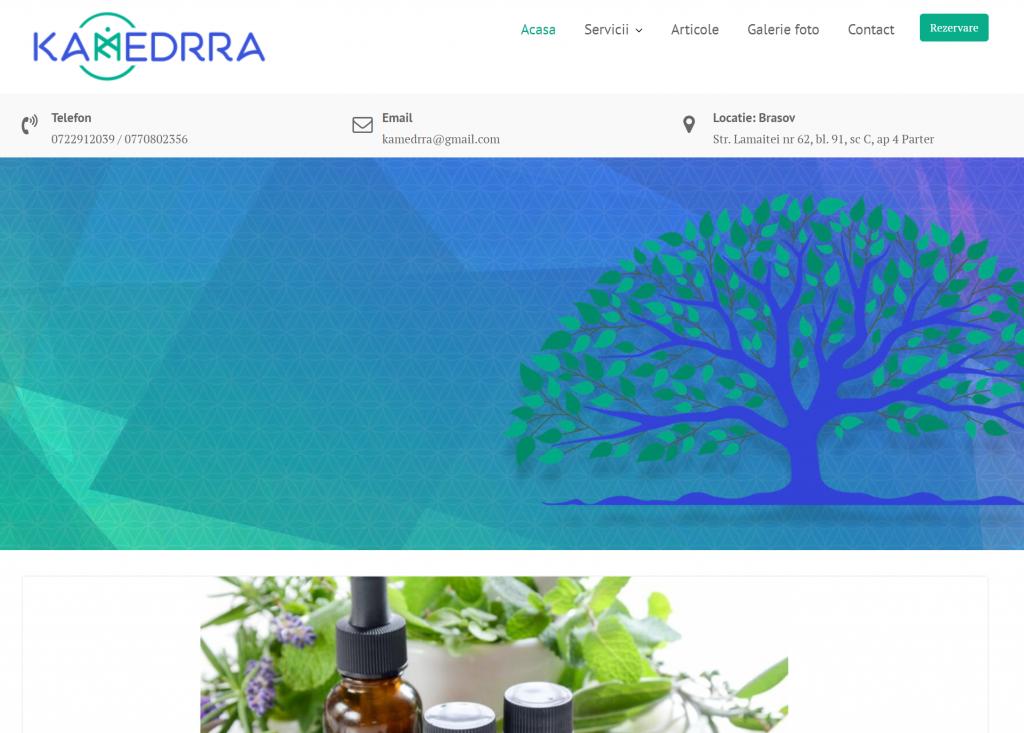 Web Design Brasov - Kamedrra