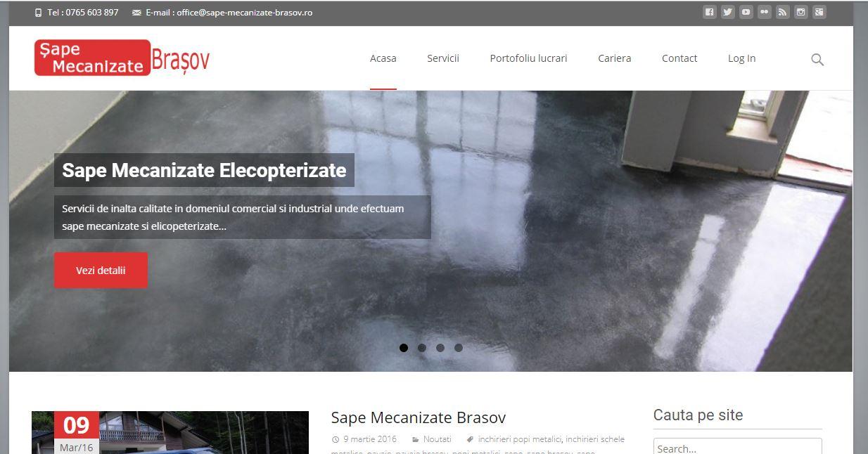website de prezentare